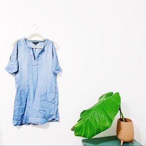 Velvet Heart Denim Dress